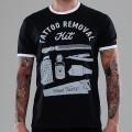 Футболка мужская рингер Tattoo Removal Kit