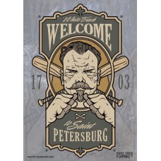 Постер Welcome To Saint Petersburg