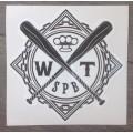 Наклейка виниловая WT Logo