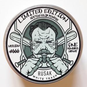 Бриолин Rusak #666 White Trash (2 по цене одного!!)