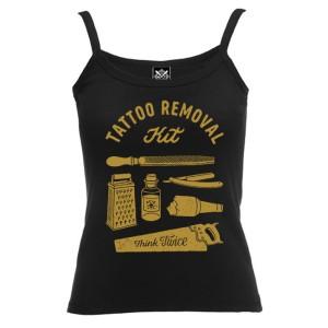 Топ женский Tattoo Removal Kit (черная)