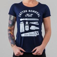 Футболка женская Tattoo Removal Kit